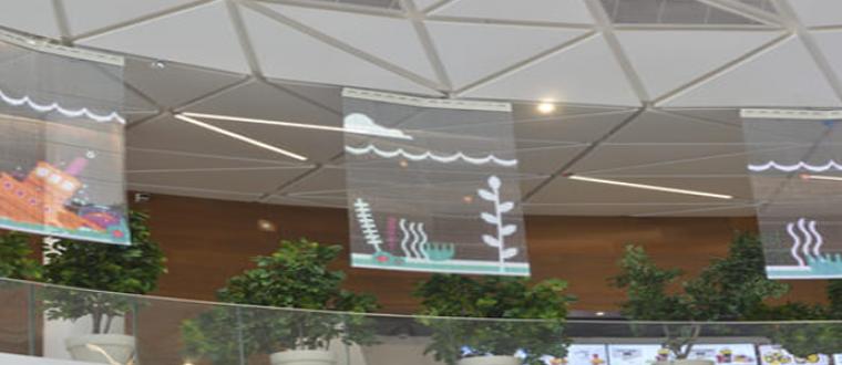 Oshiland transparent screens, Globus Max